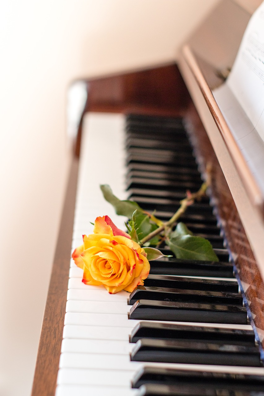 piano, music, instrument