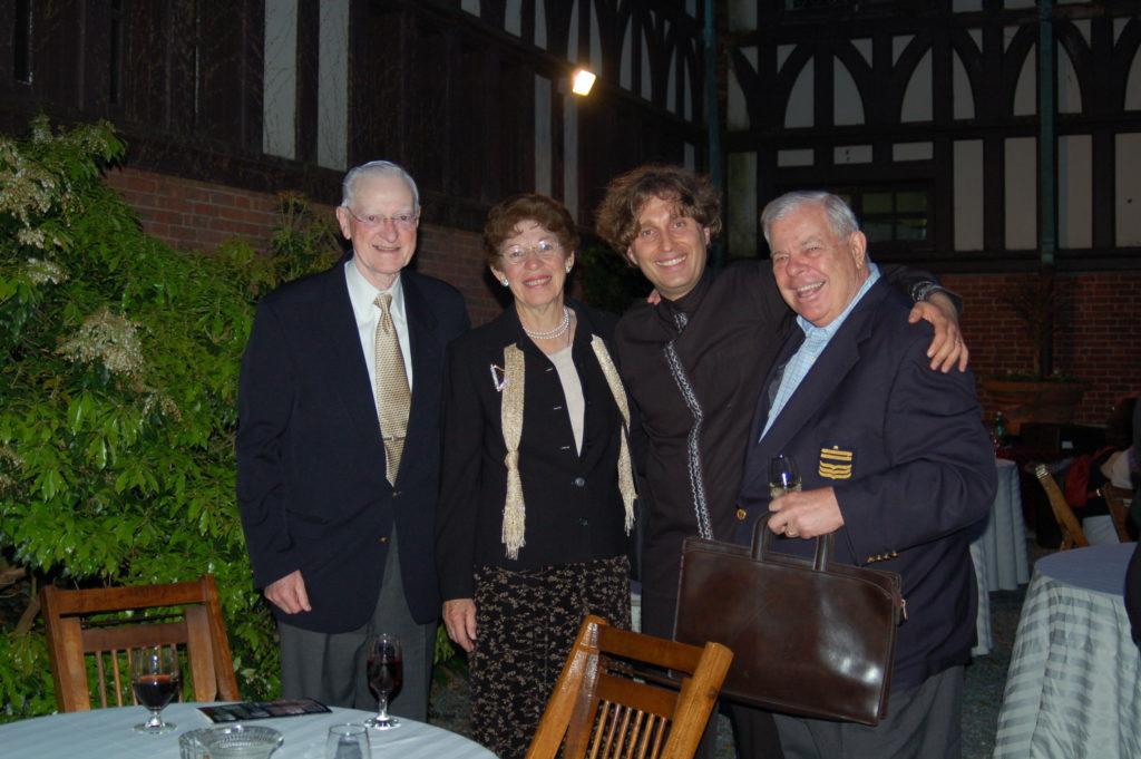 John & Margaret Garrahy, Slava Timokhin, Mark Malkovich